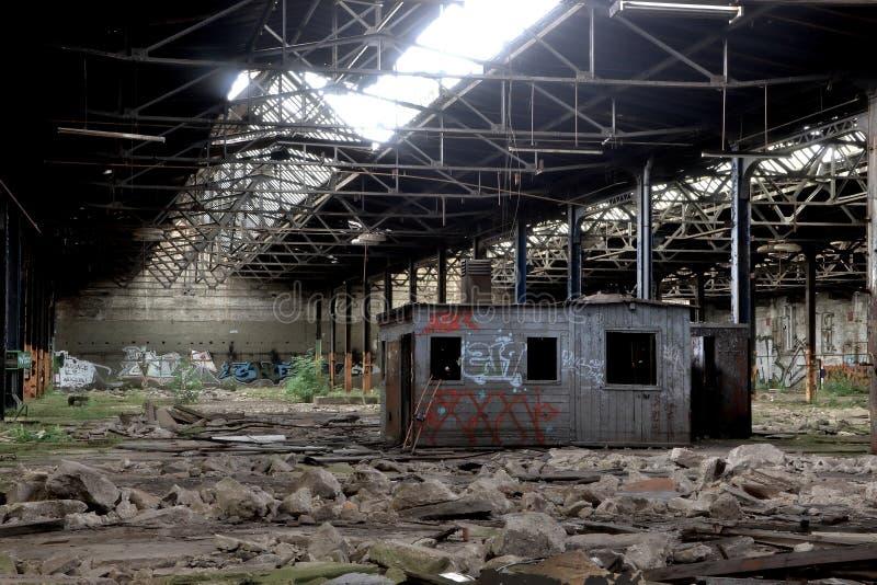 Вышедшая из употребления фабрика стоковые фото