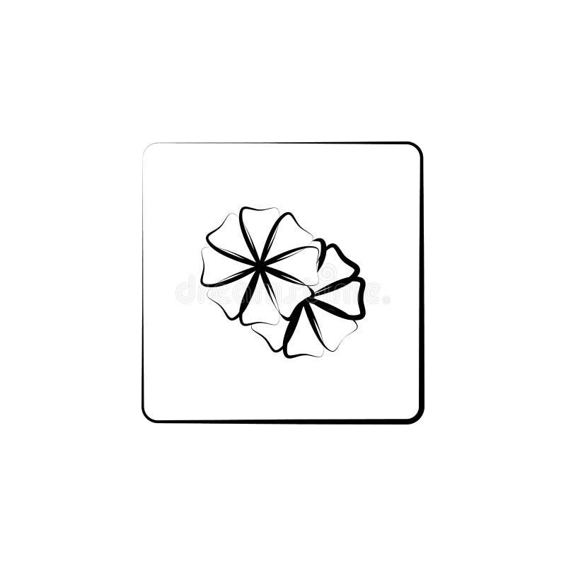 Вышивка, шьет, значок ткани Элемент значка искусства и ремесла Тонкая линия значок для дизайна вебсайта и развития, развития app иллюстрация вектора