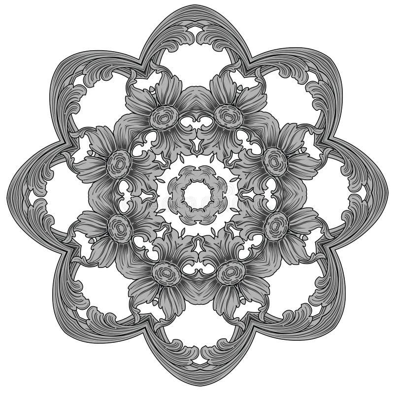 вышивка иллюстрация вектора