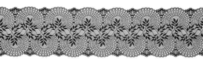 Вышитая лента отделки шнурка, граница Needlework, Embroidly стоковое фото