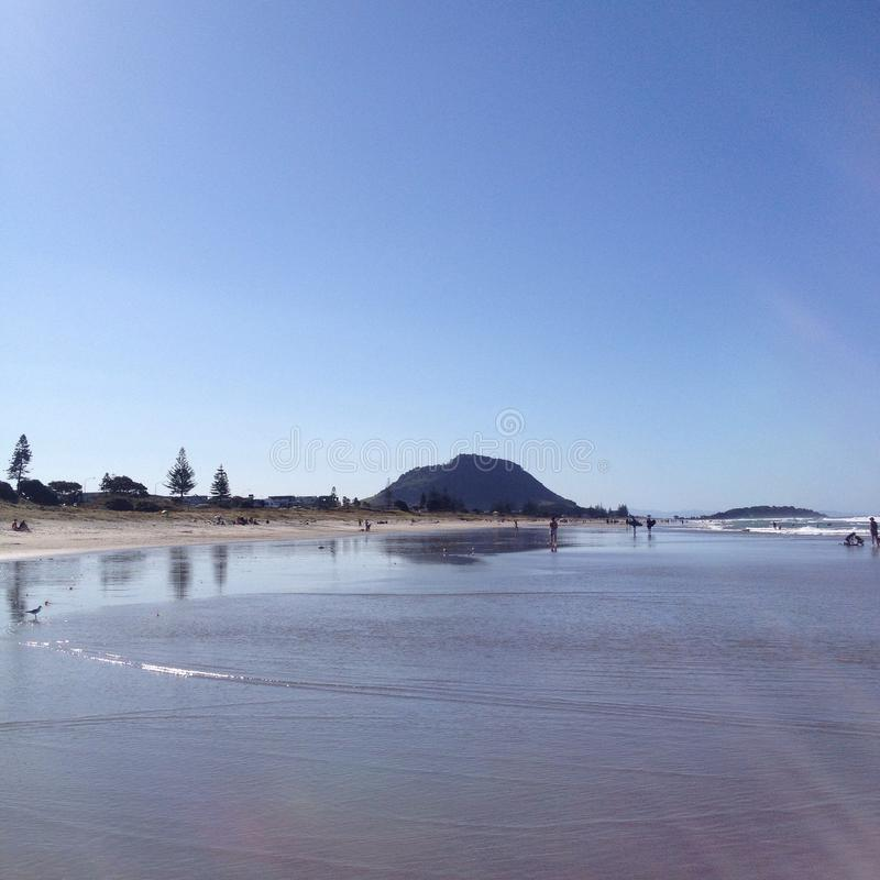 Выдержанный песок стоковая фотография rf