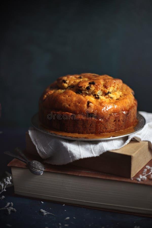 Выдержанный торт рома стоковые изображения rf