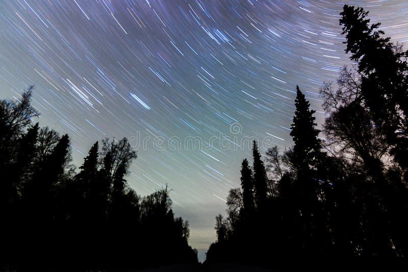 Выдержка звезды стоковое изображение