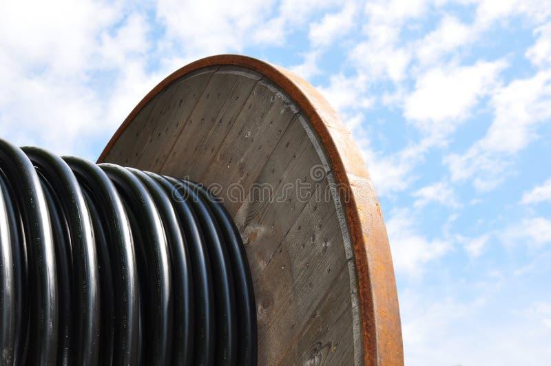 вьюрок кабеля стоковое фото