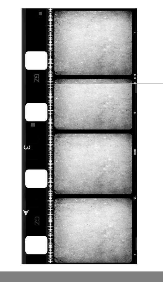 вьюрок кино пленки 8mm стоковая фотография