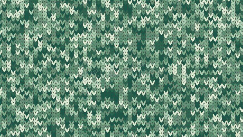 Вязать текстура Дизайн праздника свитера зимы Предпосылка Knit с пустым космосом для текста также вектор иллюстрации притяжки cor бесплатная иллюстрация