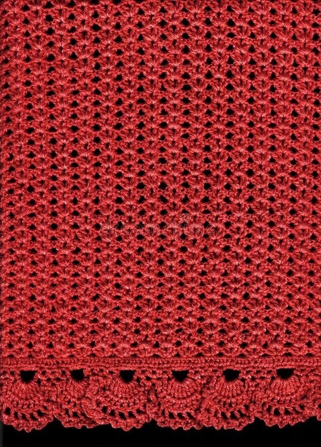 Download вязать ткани стоковое изображение. изображение насчитывающей красно - 6850991