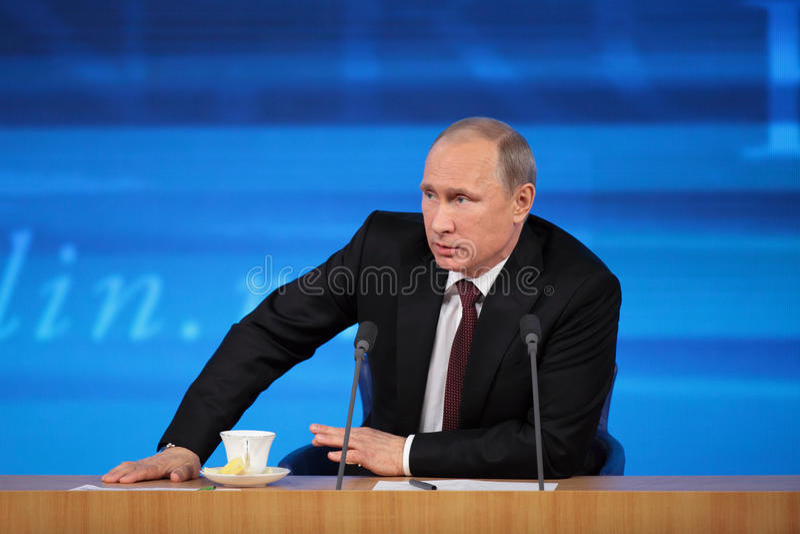 Владимир Путин стоковая фотография