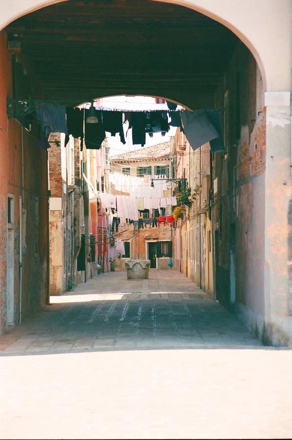 В воскресение утром в Венеции стоковое фото