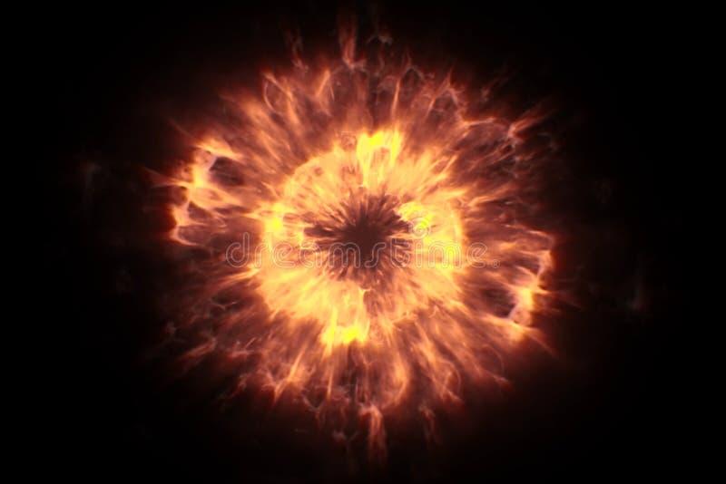 Влияние взрыва искры перехода bokeh частиц зарева золота блестящее на черной предпосылке, Новом Годе праздника счастливом стоковое фото rf