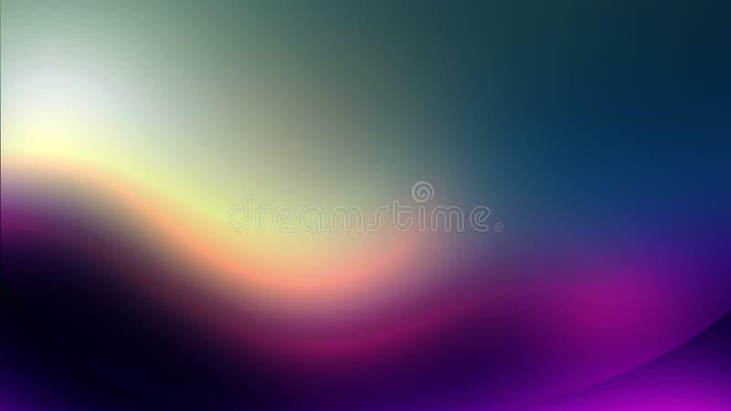 Влияние пурпура предпосылки рассвета стоковая фотография rf