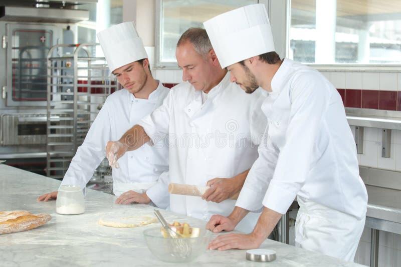В кухне школы стоковая фотография rf
