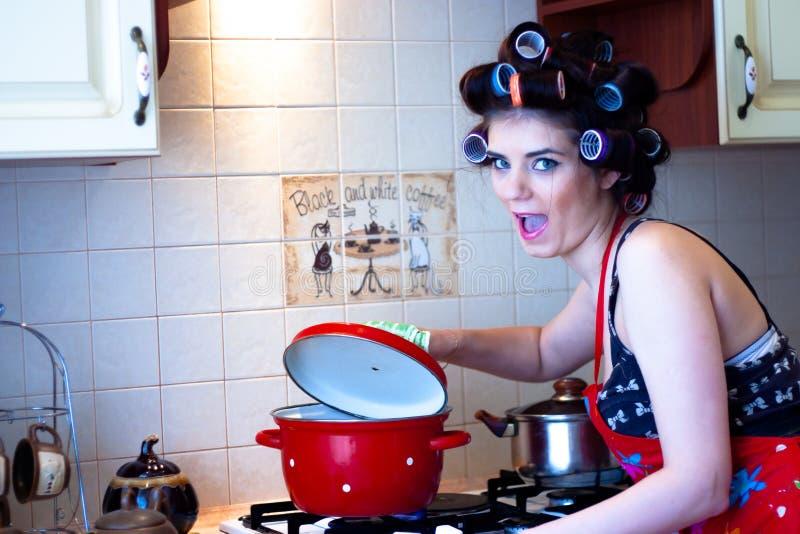 В кухне стоковое изображение rf