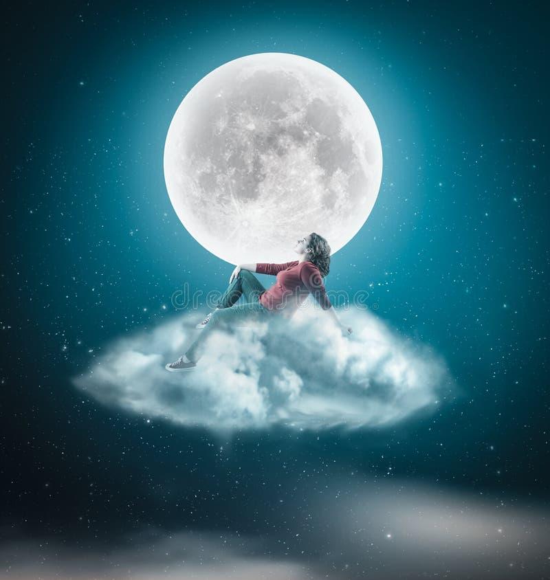 В ночу стоковое изображение rf
