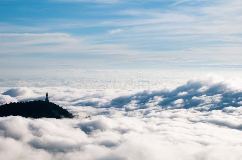 В облаке стоковые фото