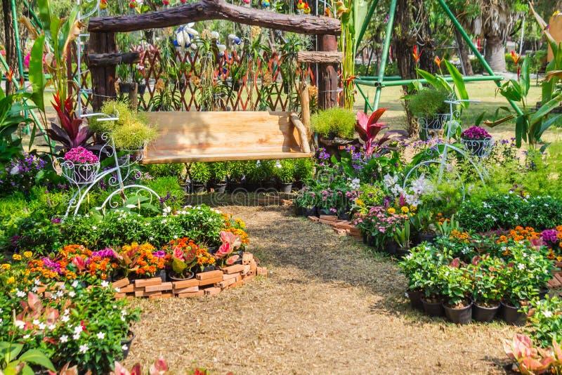 В домашнем саде стоковое фото rf