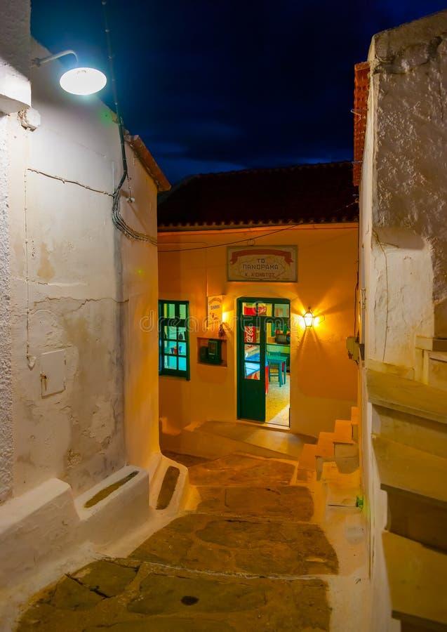 В острове Kea в Греции стоковые изображения rf