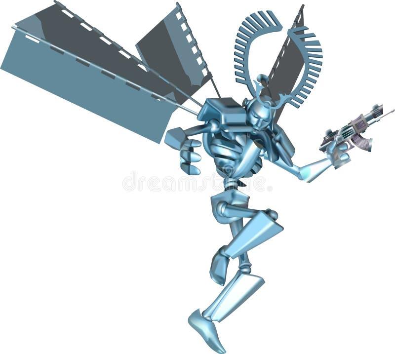 в стиле фанк самураи робота бесплатная иллюстрация