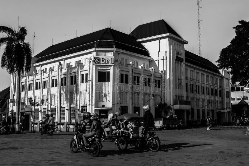 В угле Jogjakarta стоковые изображения
