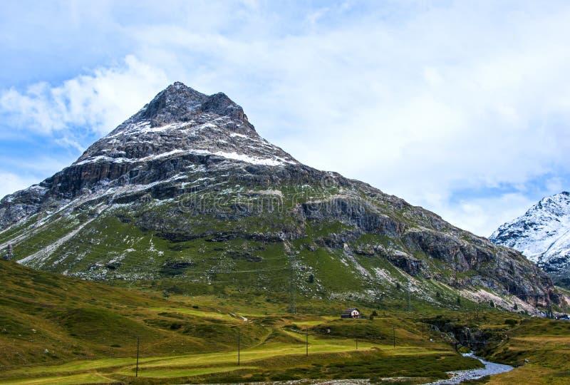 В швейцарце Альпах стоковая фотография