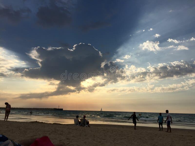 Влюбленность в небе стоковое фото