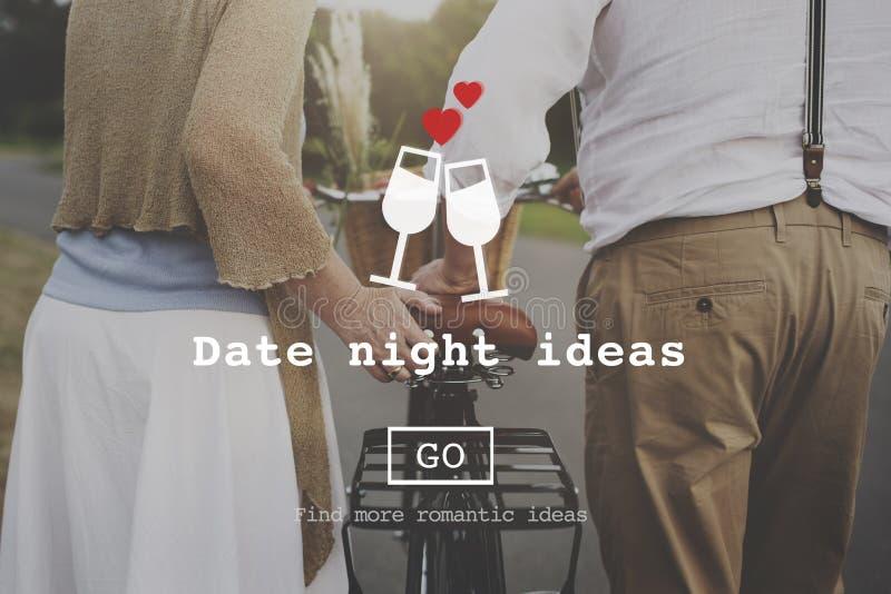 Влюбленность закавычит Romance концепцию вебсайта валентинок стоковые изображения