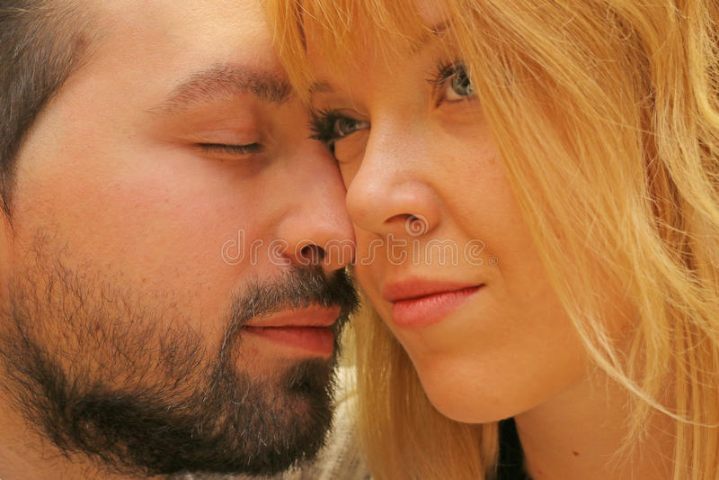 влюбленность истинная стоковое фото