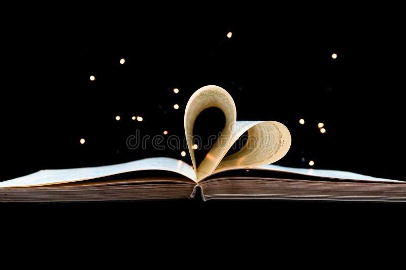 Влюбленность книги стоковое фото rf