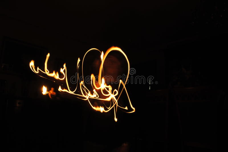 Влюбленность огня стоковая фотография rf