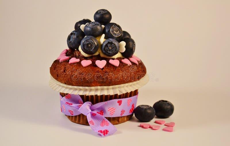 Влюбленность пирожного стоковое изображение
