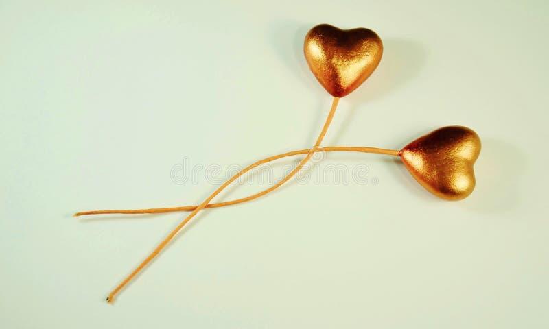 Влюбленность сердца стоковое фото rf