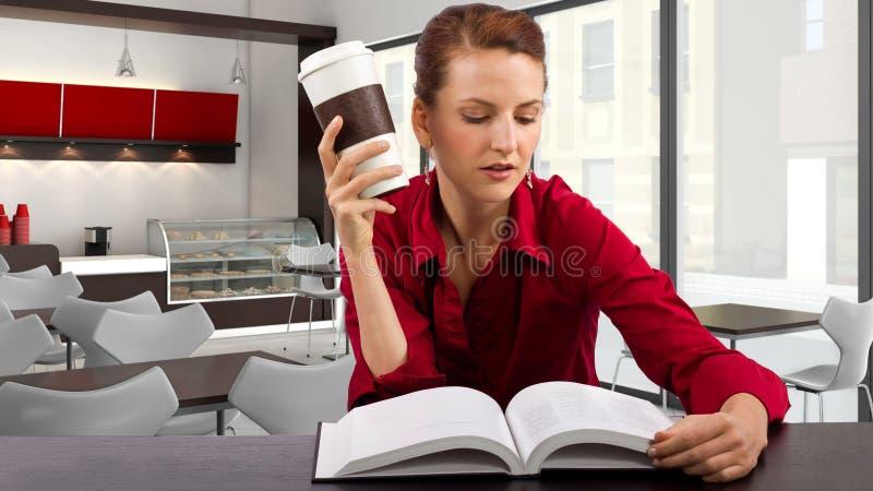 В Coffeeshop стоковые фото