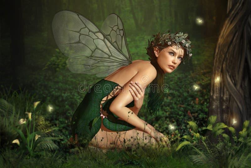 В Fairy пуще иллюстрация штока
