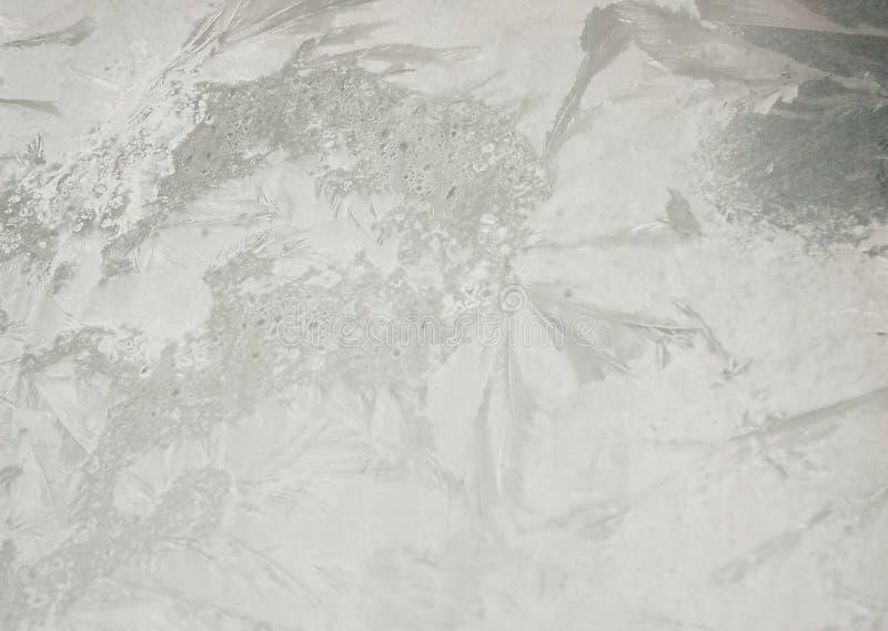 ?rawing-Frost auf dem Glas lizenzfreie stockfotografie