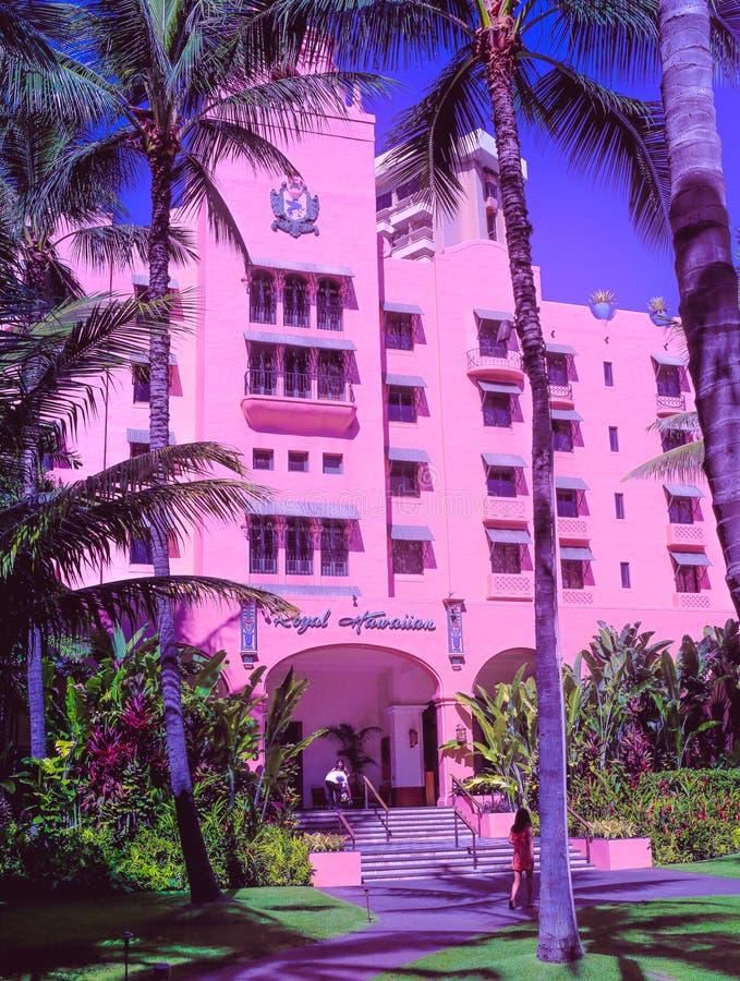гаваиская гостиница королевская стоковые фотографии rf