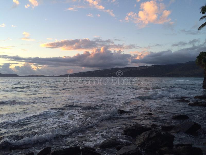 Гаваиская сцена стоковое фото rf