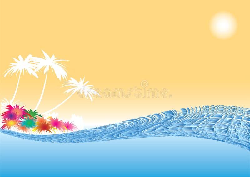 гаваиско иллюстрация штока