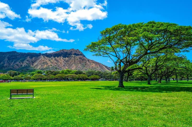 Гаваи, природа, история и архитектура стоковое фото rf