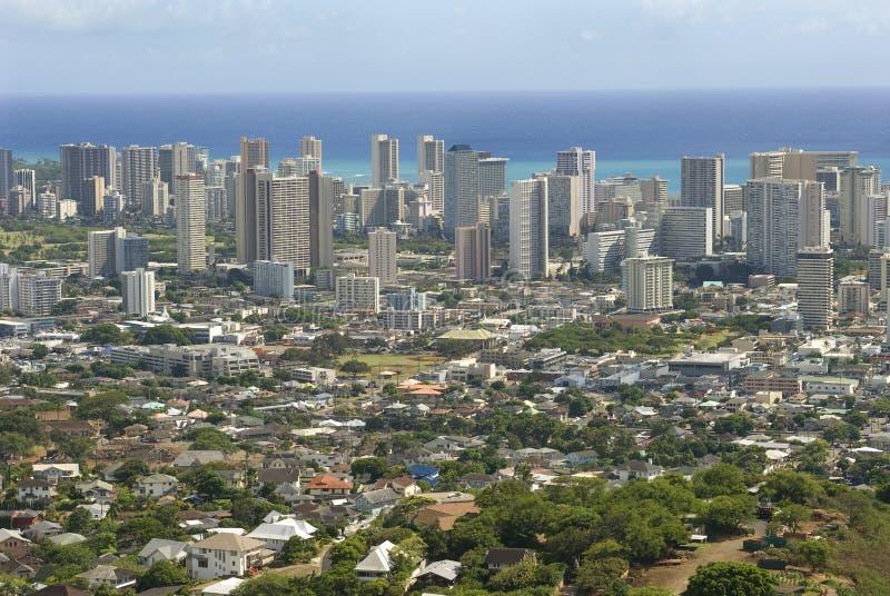 Гавайские островы honolulu стоковое фото rf