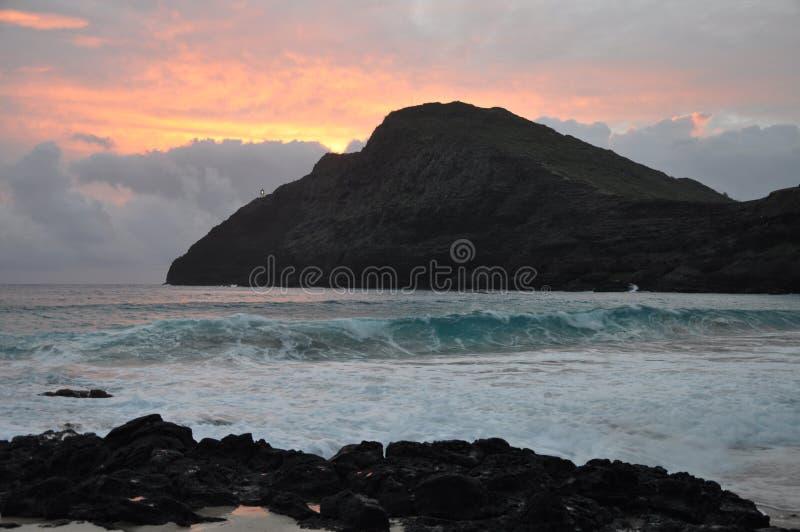 гавань Гавайские островы 2007 -го в декабре около принятого восхода солнца перлы стоковые фотографии rf