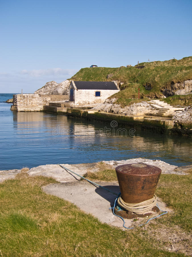 Гавань Северной Ирландии стоковое фото rf