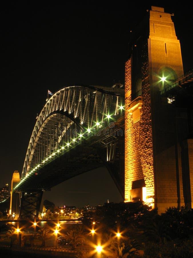 гавань Сидней моста Австралии стоковое изображение rf