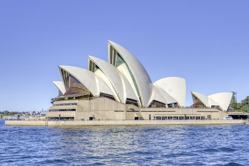 Гавань Сиднея оперного театра Сиднея стоковое фото