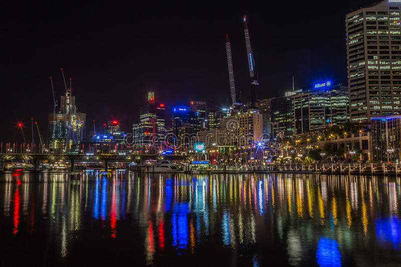 гавань Сидней милочки города стоковые фото