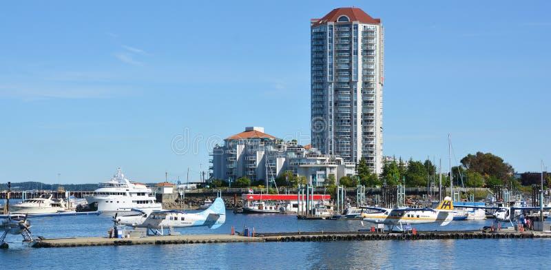 Гавань управления порта Nanaimo стоковая фотография