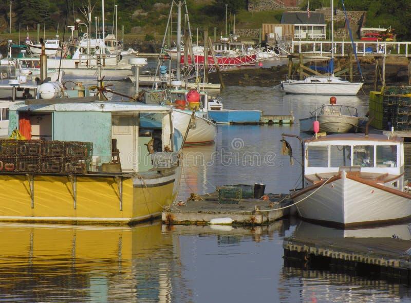 гавань шлюпок удя стоковая фотография