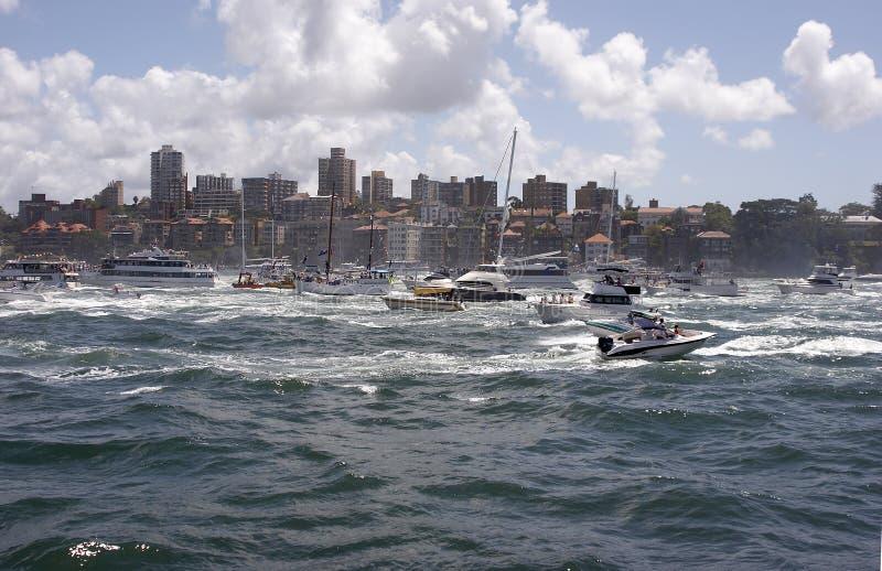 Download гавань шлюпок стоковое фото. изображение насчитывающей flotilla - 490198