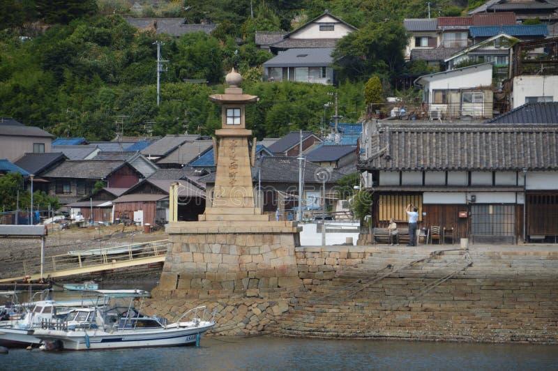 Гавань Япония 2016 Tomonoura стоковое изображение rf