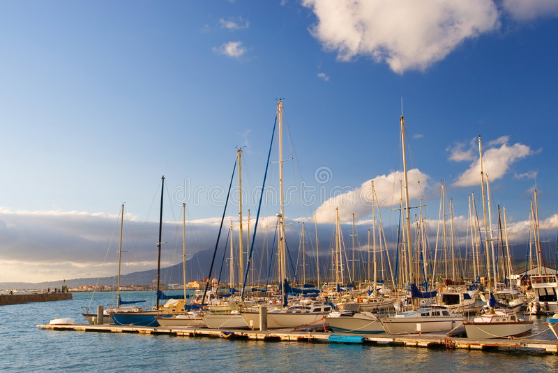 гавань 15 Стоковое Изображение
