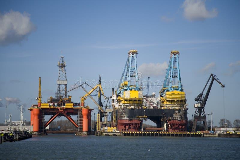 гавань 4 стоковые изображения
